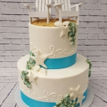 beach wedding - cc's sweet sensations